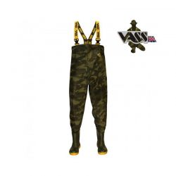 VASS TEX 800 CAMOUFLAGE CHEST WADER Nº 43