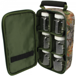NGT 6 POT CAMO GLUG BAG