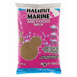 BAIT-TECH METHO MIX HALIBUT MARINE 2 KG