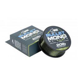 NASH BULLET MONO MAINLINE GREEN 20 LB - 0,40 MM - 1000 M
