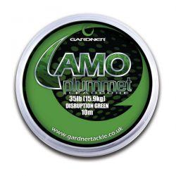 GARDNER CAMO PLUMETT GREEN 35 LB - 10 M