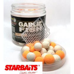 STARBAITS GARLIC FISH FLURO POP UPS 14 MM