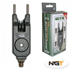 NGT BITE ALARM VOLUMEN, TONO, LIGHT & 4 X SNAG BAR