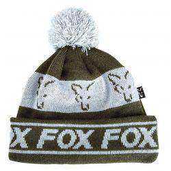 FOX FLEECE LINED BOBBLE GREEN / SILVER