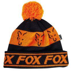FOX FLEECE LINED BOBBLE BLACK / ORANGE