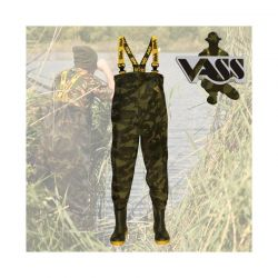 VASS TEX 800 CAMUFLAJE CHEST WADER Nº41