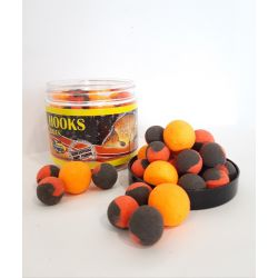 POISSON FENAG FLURO POP UPS TWO TONE 14- 20 MM KRILL CRAB