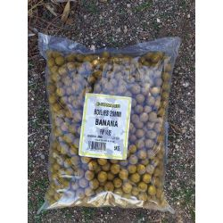 SUPER BAITS BOILIES 20 MM BANANA 5 KG