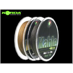 KORDA LEADCORE KABLE 50 LB 25 M GRAVEL