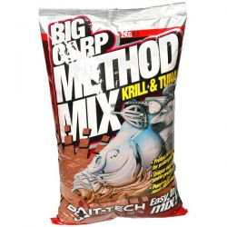 BAIT-TECH METHOD MIX KRILL & TUNA 2 KG