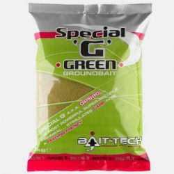 "BAIT-TECH SPECIAL "" G "" GREEN GROUNDBAIT 1 KG"