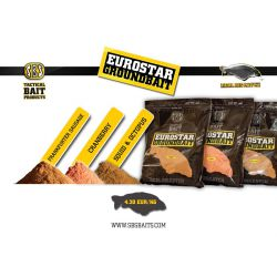 SBS EUROSTAR GROUNDBAIT SQUUID & OCTOPUS 1 KG