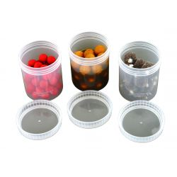 FOX BAIT TUBS FULL SIZE CLEAR X6