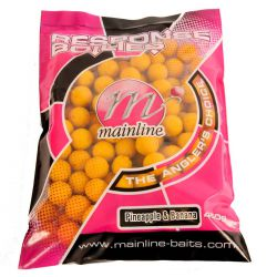 MAINLINE RESPONSE BOILIES PINEAPPLE & BANANA 15 MM
