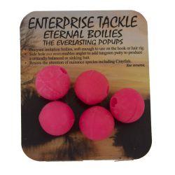 ENTERPRISE TACKLE ETERNAL BOILIES 15 MM PINK