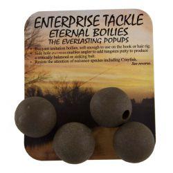ENTERPRISE TACKLE ETERNAL BOILIES POP UPS MARRON 15 MM