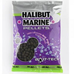 BAIT-TECH HALIBUT MARINE PELLETS 14 MM - 900 GR
