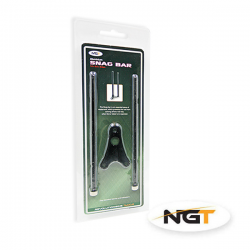 NGT MINI SNAG BARS ALUMINIO BLACK