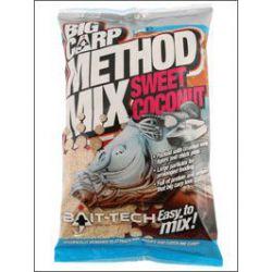 BAIT-TECH BIG CARP METHOD MIX SWEET COCONUT 2 KG