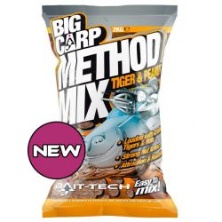 BAIT-TECH BIG CARP METHOD MIX TIGER & PEANUTS 2 KG