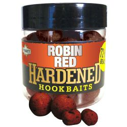 DYNAMITE HARDENED HOOKBAITS ROBIN RED BOILIES & DUMBELLS 14,15 Y 20 MM