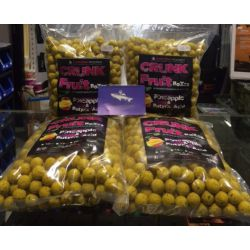 CARP-ZONE BOLSA 20 MM 1 KG PINEAPPLE & N-BUTYRIC