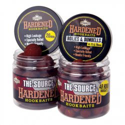 DYNAMITE HARDENED HOOKBAITS THE SOURCE BOILIES & DUMBELLS 14,15 Y 20 MM