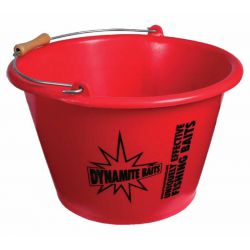 DYNAMITE GROUNDBAIT MIXING BUCKET 17 LITROS ROJO
