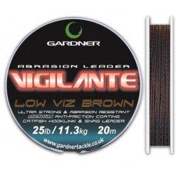 GARDNER ABRASION LIDER VIGILANTE LOW VIZ BROWN 25 LB