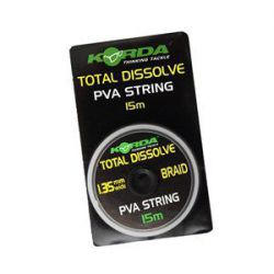 KORDA PVA STRING TOTAL DISOLVE 15 M - 1,35 MM
