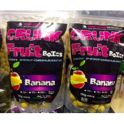 CARP-ZONE CRUNK BANANA 20 MM - 1 KG