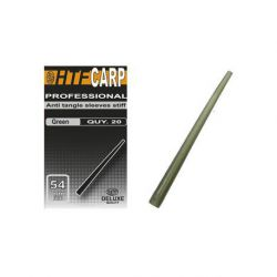 HTF CARP ANTI TANGLE SLEEVES STIF GREEN 54 MM