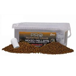 STARBAITS PRO MONSTER CRAB MIXED PELLETS 2 KG