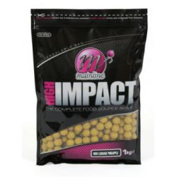 MAINLINE HIGH IMPACT BOILIES H/L PINEAPPLE 20 MM - 1 KG