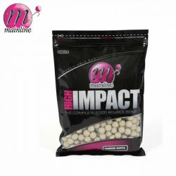 MAINLINE HIGH IMPACT BOILIES DIAMOND WHITES 20 MM