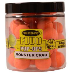 FUN FISHING FLUO POP UPS MONSTER CRAB 15 MM