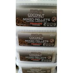 STARBAITS PRO COCONUT MIXED PELLETS 2 KG