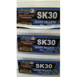 STARBAITS SK30 MIXED PELLETS 2 KG