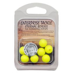 ENTERPRISE TACKLE BOILIES 12 MM FLURO AMARILLO
