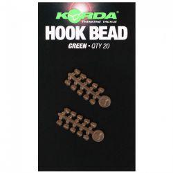 KORDA HOOK BEAD GREEN