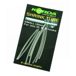 KORDA SHRINK TUBE SMALL 1,2 MM CLEAR