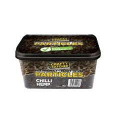 CRAFTY CATCHER CHILLY HEMP 3 KG
