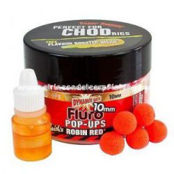 DYNAMITE FLURO POP UPS ROBIN RED 10 MM