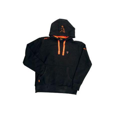 FOX HOODY BLACK/ORANGE TALLA XL