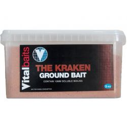 VITAL BAITS GROUNDBAIT THE KRAKEN - 3 KG