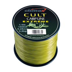 CLIMAX CULT CARPLINE EXTREME 0,40 MM - 1200 M