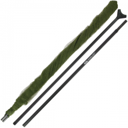 "NGT DELUXE STALKER 42"" CARP NET WITH CARBON ARMS 2 PCS - 6 FT"