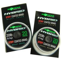KORDA HYBRID STIFF 20 LB WEED GREEN 20 M