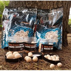 VITALBAITS HARD HOOKBAITS NUTTY CRUNCH WHITE 20 MM