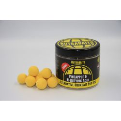 NUTRA BAITS HOOKBAITS PINEAPPLE &N-BUTYRIC POP UP 16 MM